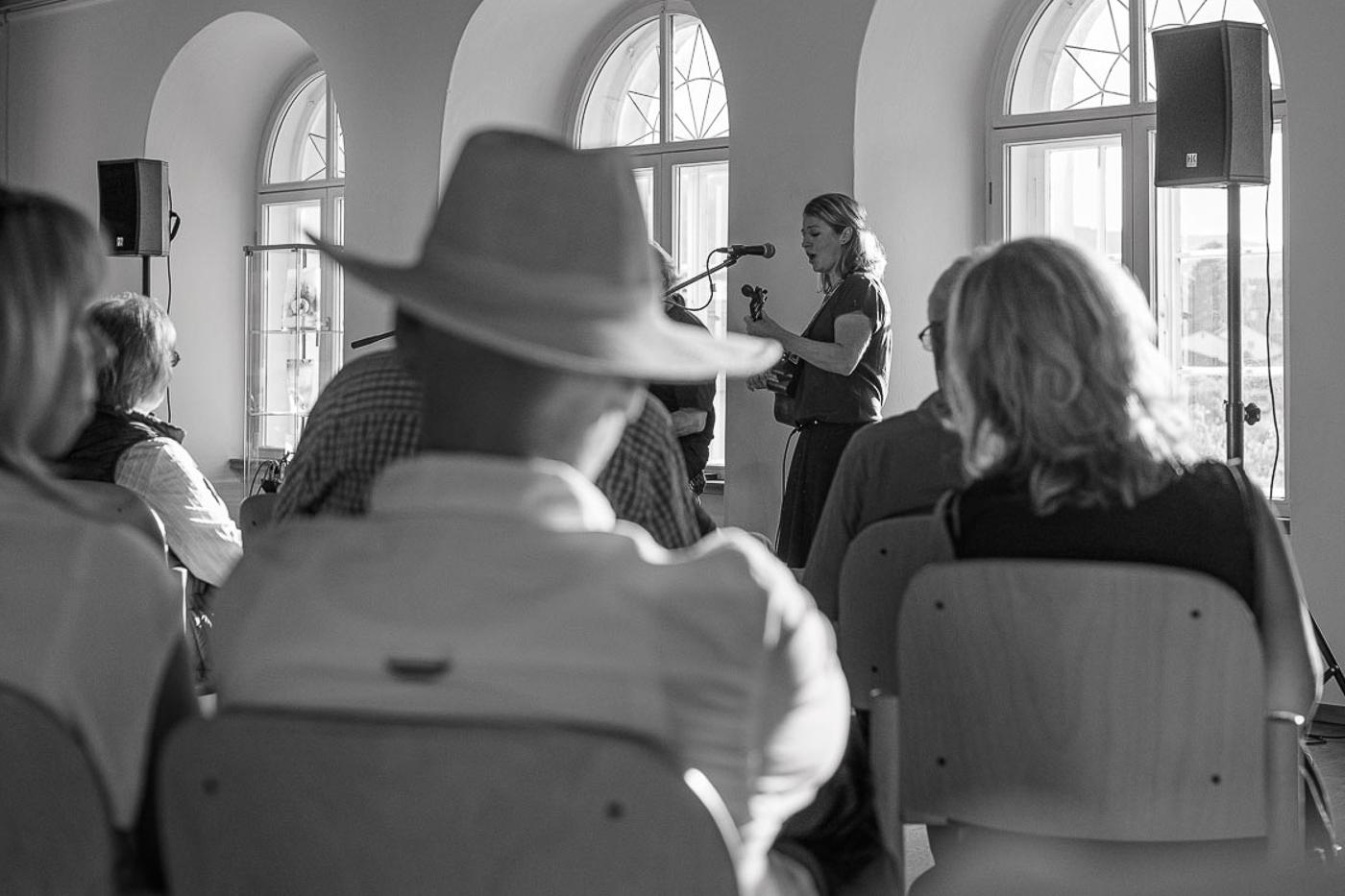 Premierenauftritt im Alten Rathaus Viechtach 2019